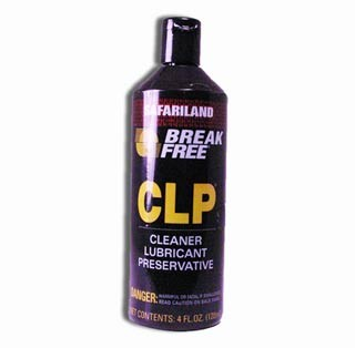 Break-Free CLP (Bore Cleaning Solvent, Lubricant, Rust Preventative) .68 oz Liquid
