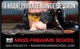 Personal Range Time with an MFS Instructor Gift Certificate ($65)